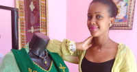 Talking the business of fashion with Ethiopian designer