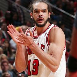 Bulls' Joakim Noah wins 2014-15 J. Walter Kennedy Citizenship Award
