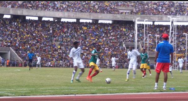 Lesotho vs Ethiopia (Photo credit: ethiofootball.com)