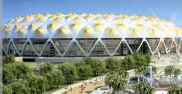 Adey Abeba Stadium, Addis Ababa