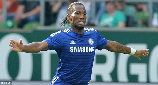 Former Chelsea  & Ivory Coast star Didier Drogba (credit: epa)