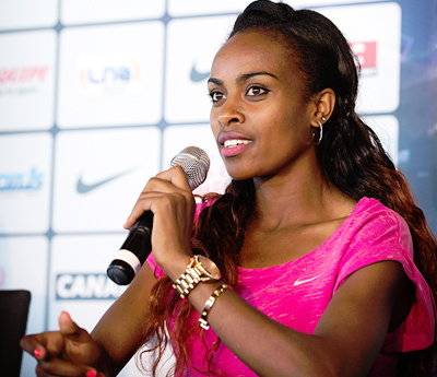 Genzebe IAAF Press