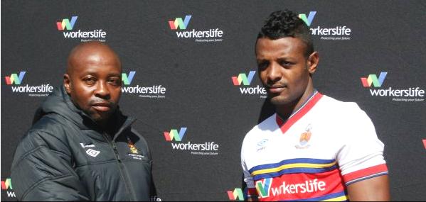 Coach Masala and Getaneh kebede (credit: University of Pretoria)