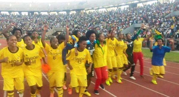 Jubilant Ethiopians