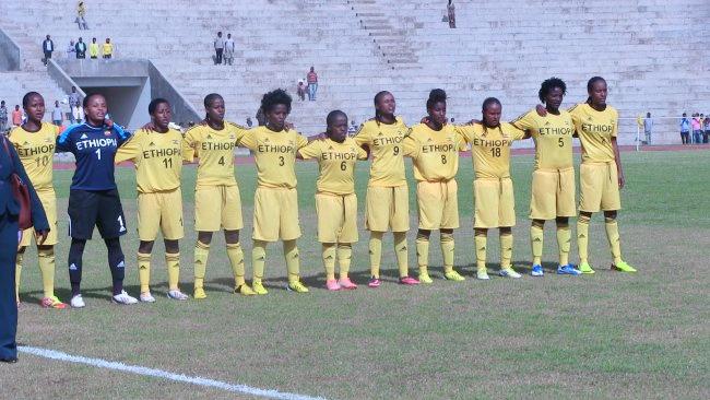 Ethiopian U-20 Women Team (Photo: Camfoot.com) -