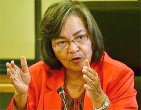 Cape Town mayor Patricia de Lille -
