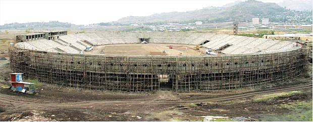Sheikh Mohammed Al Amoudi Stadium in Woldiya