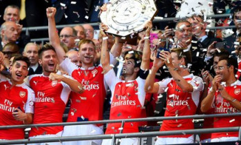 Arsenal defeats Chelsea 1-0 to win Community Shield