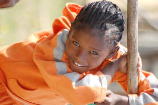 Ethiopia's beautiful children will instantly win you over (credit: Elizabeth Egan)