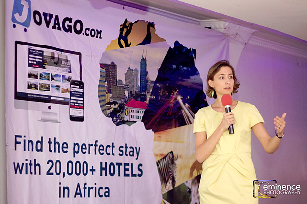 The Managing Director of Jovago East Africa and Southern Africa, Estelle Verdier (credit: eminence photography)