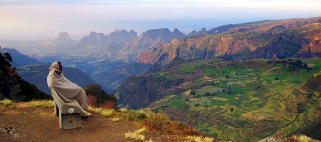 Hiking Simien
