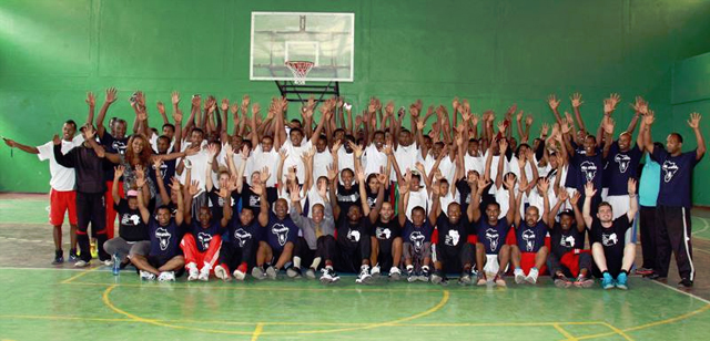 NBA basketball Clinic Addis Ababa (credit: U.S. Embassy in Addis)
