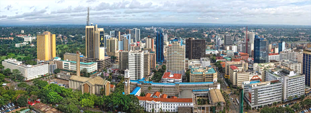 Nairobi, Kenya's capital city.