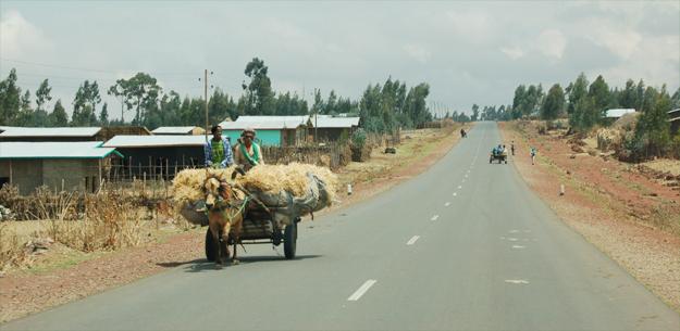 Life in rural Ethiopia (credit: Elizabeth Egan)