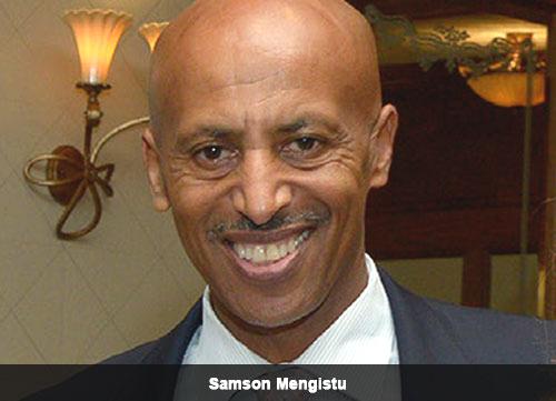 Samson Mengistu, Executive Director at Los Angeles World Airports (LAWA) (credit: The Capital)