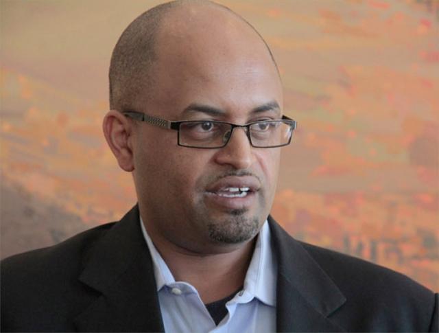 Yohannes Assefa, executive director of Ethiopian Diaspora Business Forum, (credit: The Reporter)