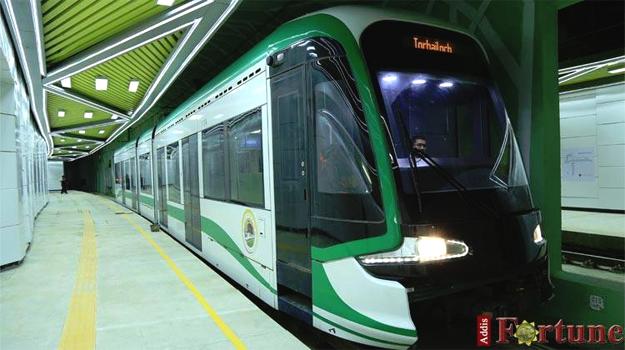 AA Light Rail Torhayloch (Photo: Addis Fortune)