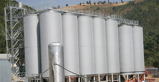 The plant of Meta Abo Brewery which rests on 40ha plot of land located at Sebeta, 25Km, southwest of Addis Abeba.