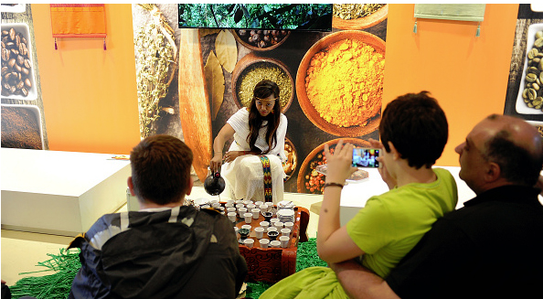 Ethiopia Milano Expo Coffee Ceremony (Photo: Getty Images)