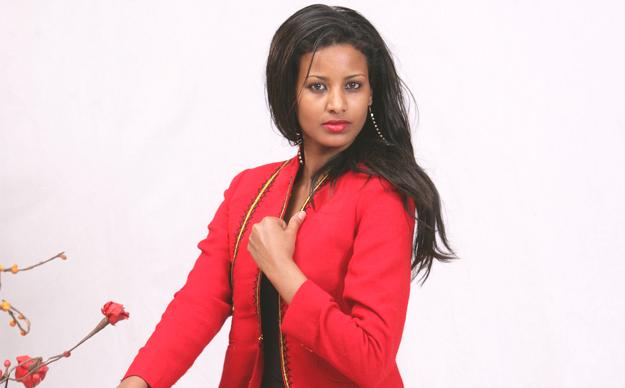 Ethiopian Fashion Designer Hiwot Gashaw (Photo: Selamta Magazine)
