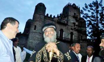 Pope Tawadros II visits Axum, Gondar