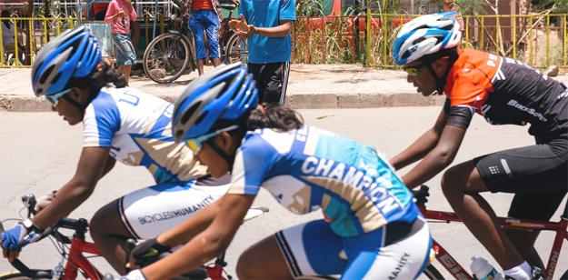 Ethiopian Cyclists (photo credit:  Michael Tsegaye)