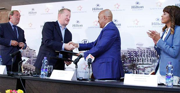 Sunshine & Hilton Worldwide Announce Agreement for Hilton Hawassa Resort & Spa (credit: AddisFortune.com)
