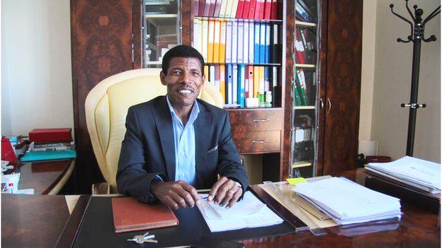 Haile Gebrselassie, the businessman