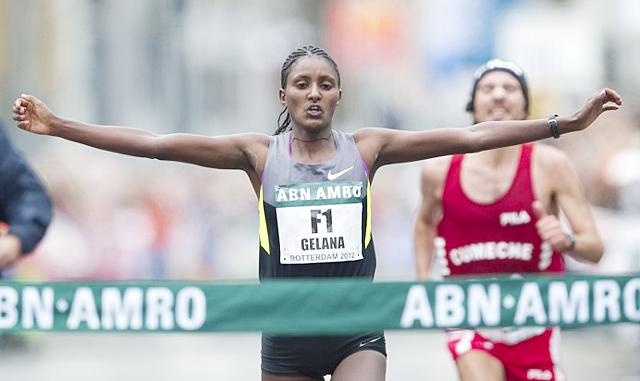 Tiki Gelana of Ethiopia (credit: rtvnh.nl)