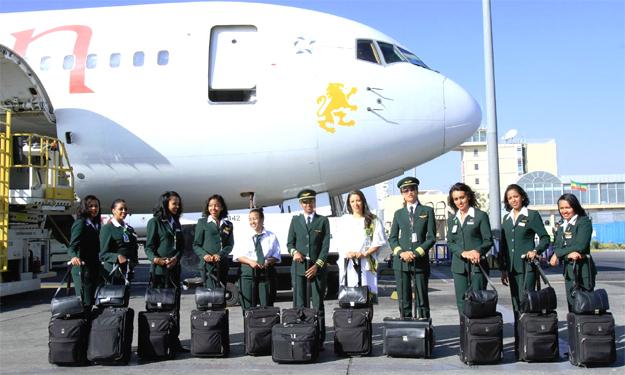 Ethiopian Airlines All-Female Crew (photo: Ethiopian Airlines)