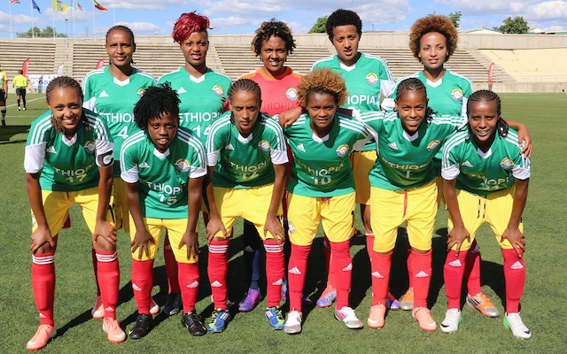 "The Ethiopian women's football team aka Dinkinesh ""Lucy"""