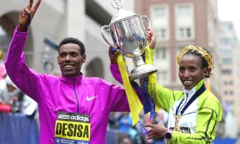 Desisa and Rotich to defend Boston Marathon titles