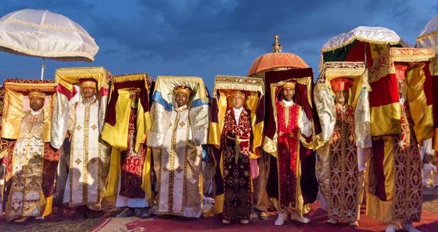 Timket festival in Ethiopia