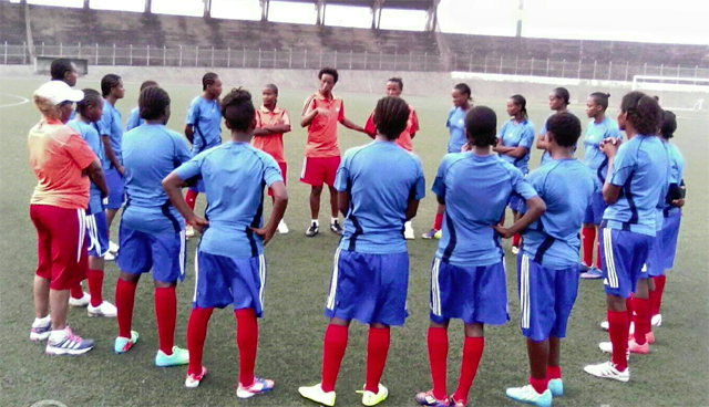 Ethiopian women U17 team (photo: Dagim Zinabu)