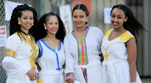 Ethiopian traditional dresses by Yordis