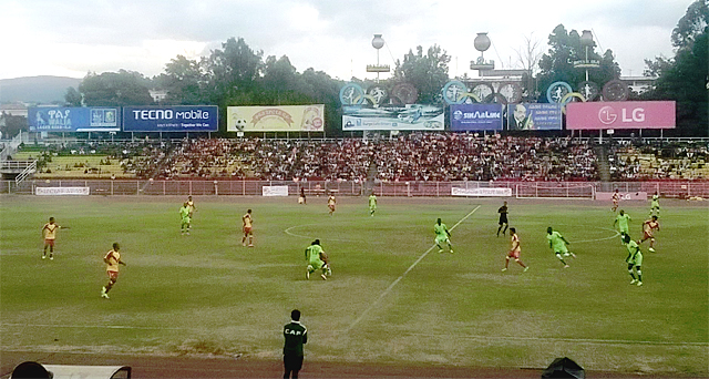 Kedus Giorgis vs Al Merrikh (photo: SoccerEthiopia.net)