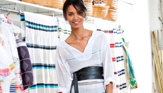 Model & Designer Liya Kebede
