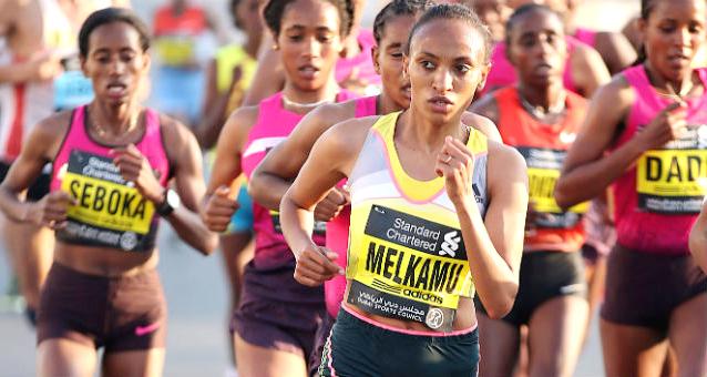 Meselech melkamu of Ethiopia (photo: dubaimarathon.org)