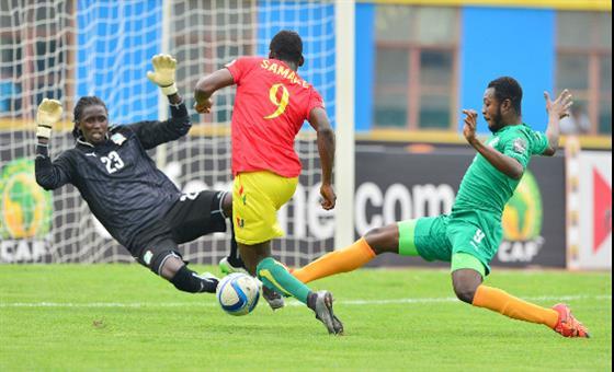 Cote d'Ivoire vs  Guinea (photo: CAF)