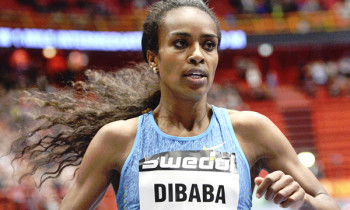 Genzebe Dibaba runs second-fastest indoor 3,000m in history in Sabadell