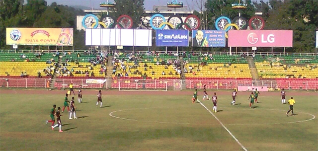 Where are the fans? (photo: soccerethiopia.net)