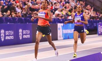 World Indoor Junior Record for Gudaf Tsegaye