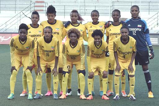 Dinkinesh Ethiopian Women Team