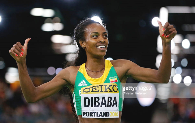Genzebe Dibaba (photo: Getty Images)