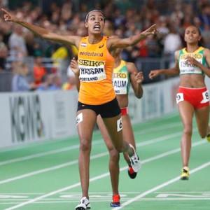 IAAF World Indoor Championships: Dutch-Ethiopian Sifan Hassan wins 1,500m