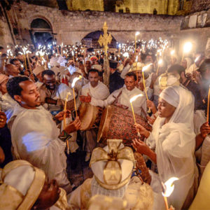 Ethiopians celebrate Fasika (Easter)
