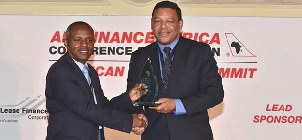 Mr. Mesfin Tasew (left), Chief Operating Officer