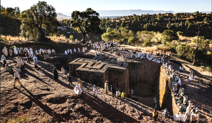 Lalibela, ethiopia's new Jerusalem (photo: CNN)