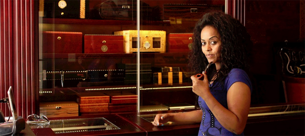 Negest Dawit, owner of TC Cigar Lounge (photo: TC company website)