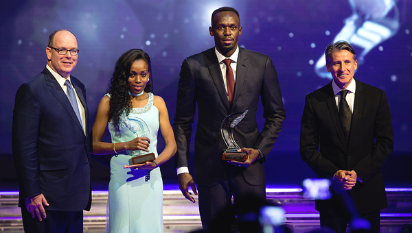 Bolt and Ayana crowned 2016 World Athletes of the Year